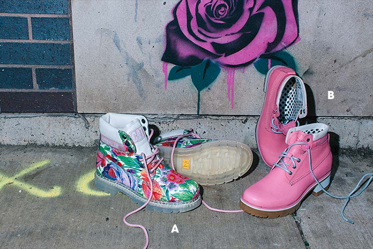 Cat Colorado Boot Flowers | Stopwatch Boot