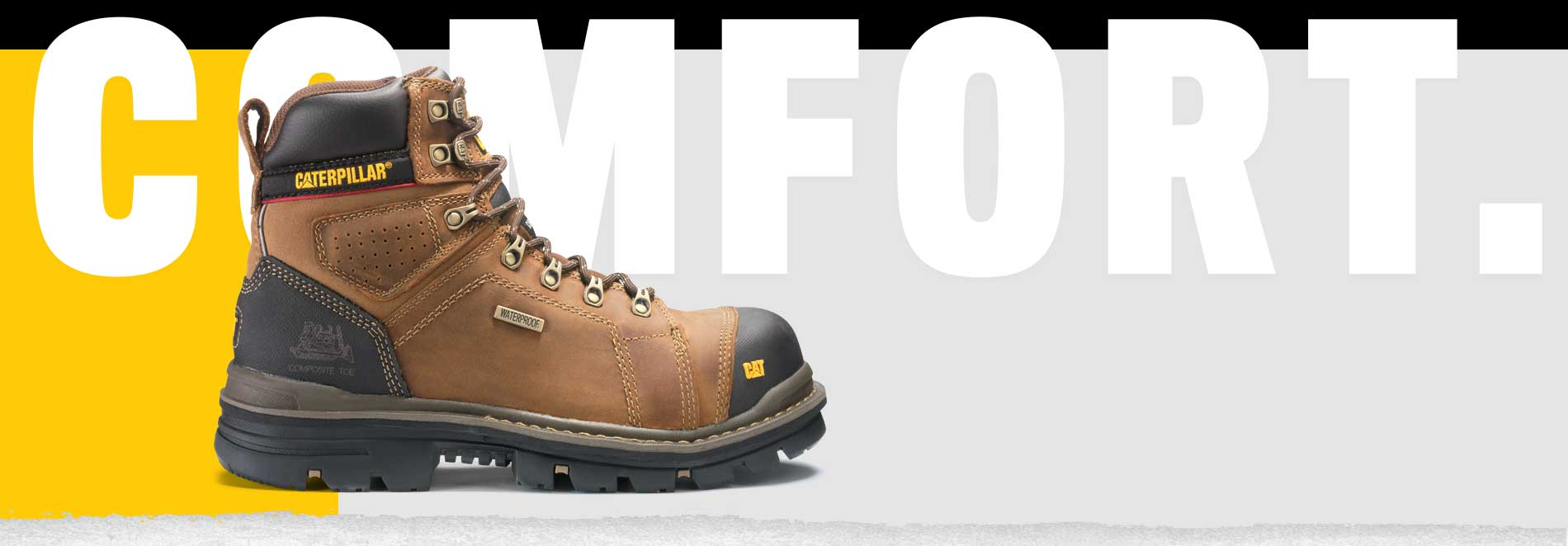 caterpillar work boots comfortable work shoes cat footwear
