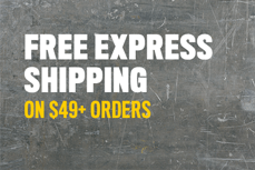 Free Express Shipping on 49+ Orders