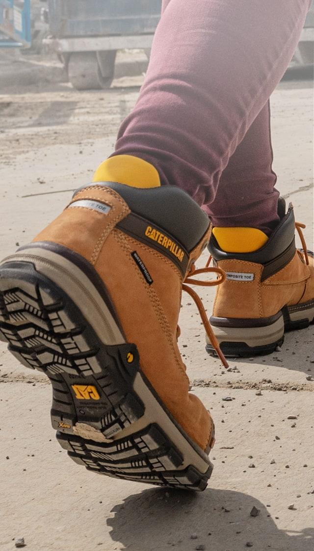 Caterpillar Bottes De Travail - Chaussures