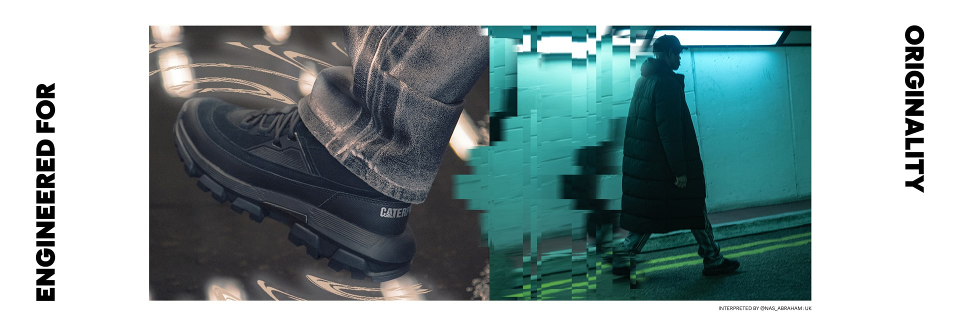 CAT Footwear | Re-Powered