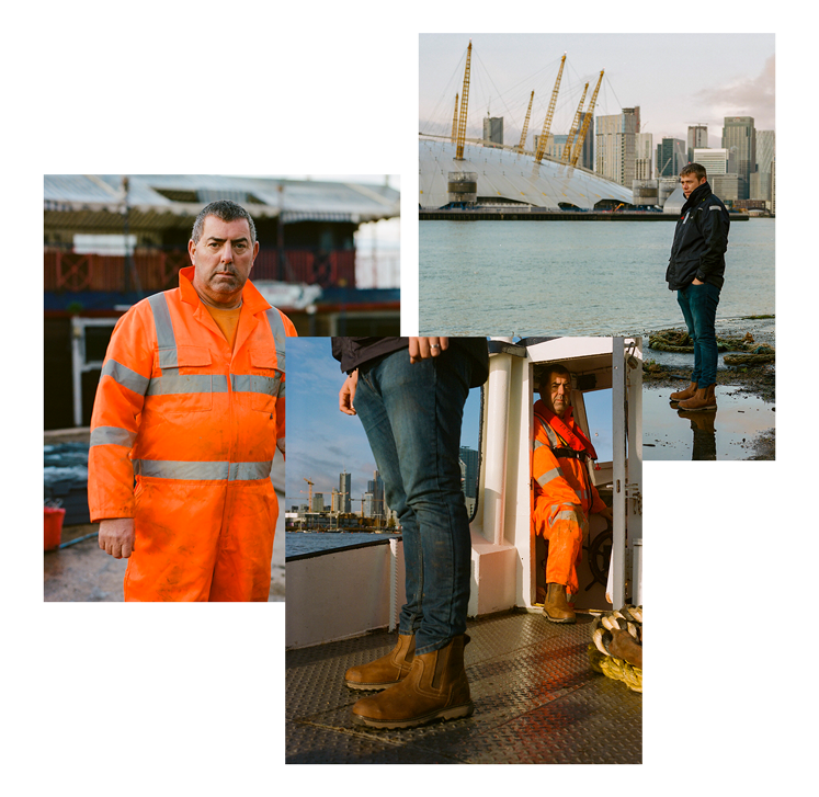 Thames Workboat Services Collage
