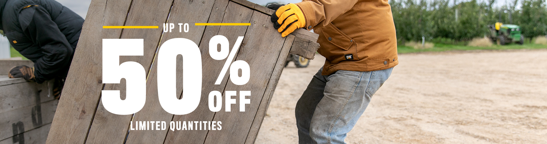 Up to 50% off limited quantities
