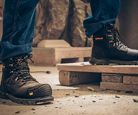 los angeles 77f6f aa096 Caterpillar Work Boots - Comfortable Work Shoes | Cat Footwear