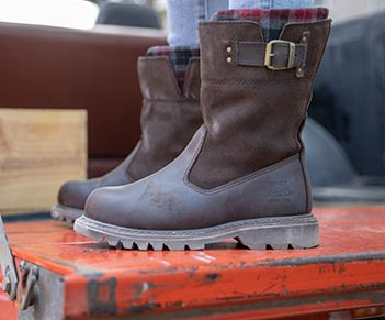 Jenny Steel Toe Boot. Was $137. Now $67.99.