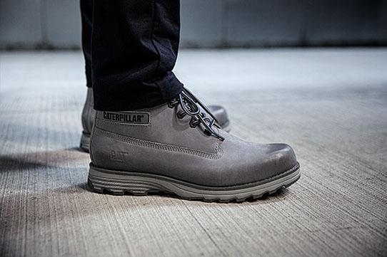 Grey Cat Boots