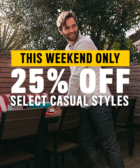 Summer Ready Sale - 25% off Select Casual Styles (20+ Styles)
