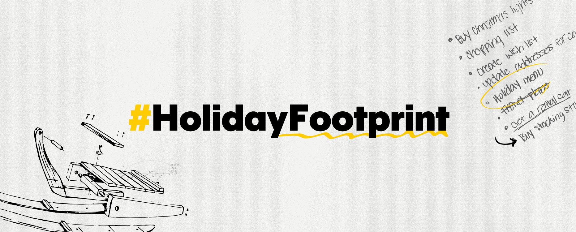 #HolidayFootprint