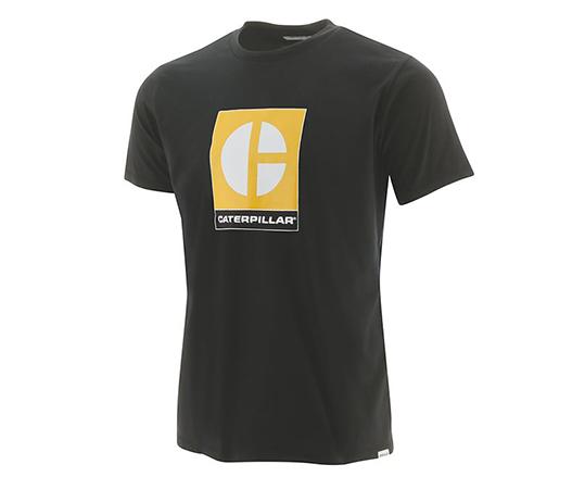 CAT Men's C-Block Logo Tee
