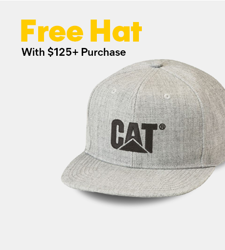 Free Hat with $125+ purchase