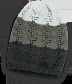 Cozy knit beanie.