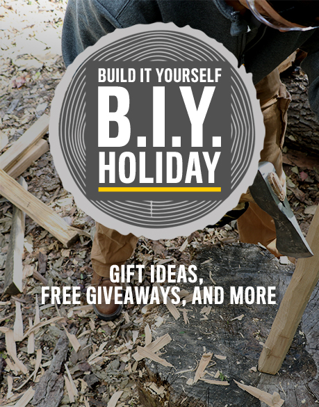BIY | Build it Yourself Holiday. Gift Ideas, Free Giveaways, And More