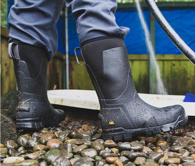 Caterpillar Work Boots - Comfortable
