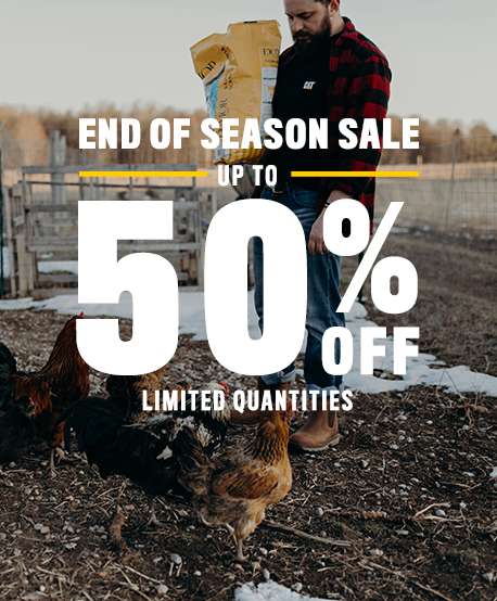 End of Season Sale. Up To 50% Off Limited Quantities. Shop Now.