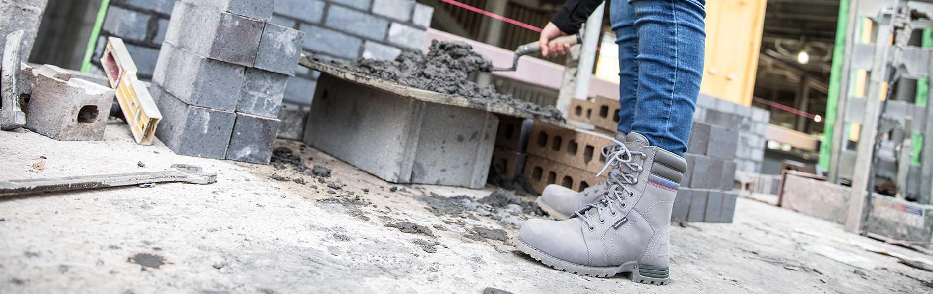 10b9edf7bf Women - Echo Waterproof Steel Toe Work Boot - Steel Toe Work Boots ...