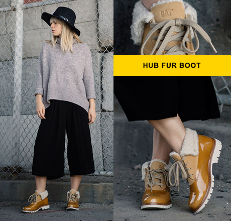 Hub Fur Boot