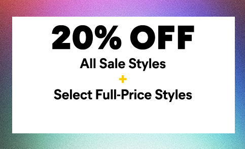 Catepillar 20 Percent off all sale styles and select Full-Price Styles