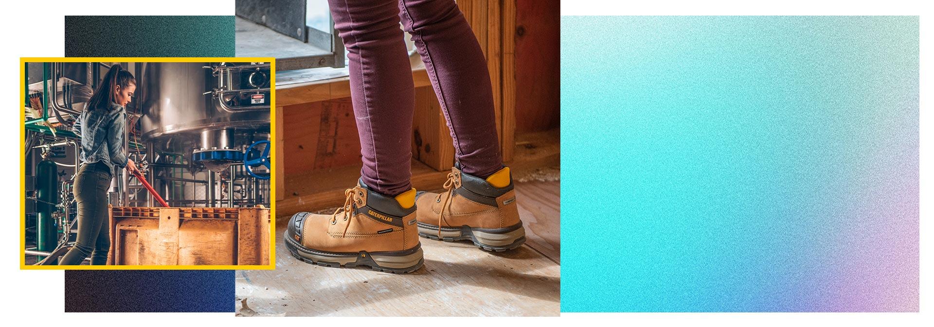 CAT Supurlite Shoes.