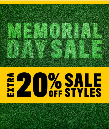 Memorial Day Sale - Extra 20% off Sale Styles