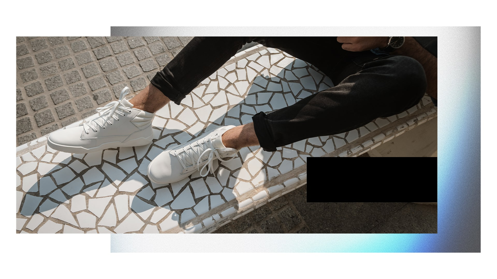 Cat Code shoes.