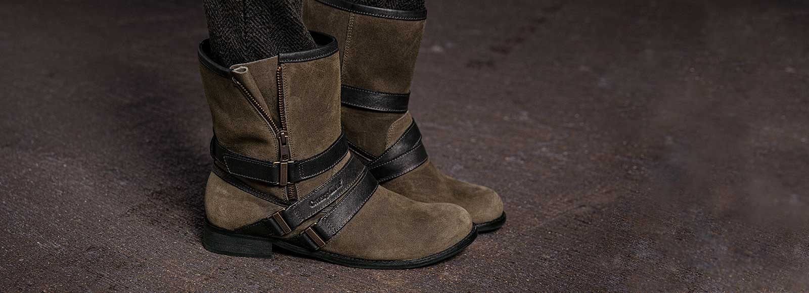 Boots with Buckles