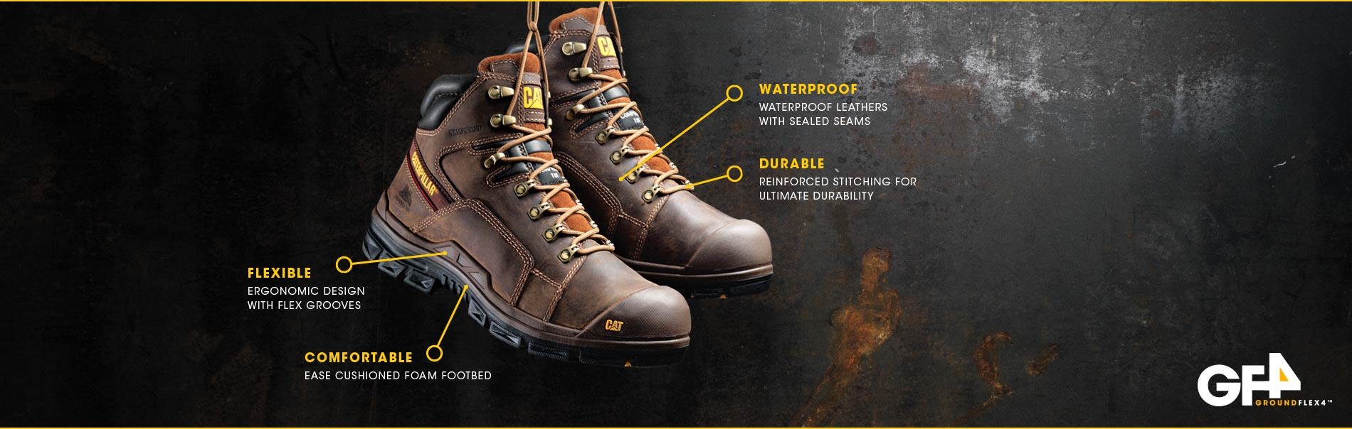 Flexible / comfortable / waterproof / durable