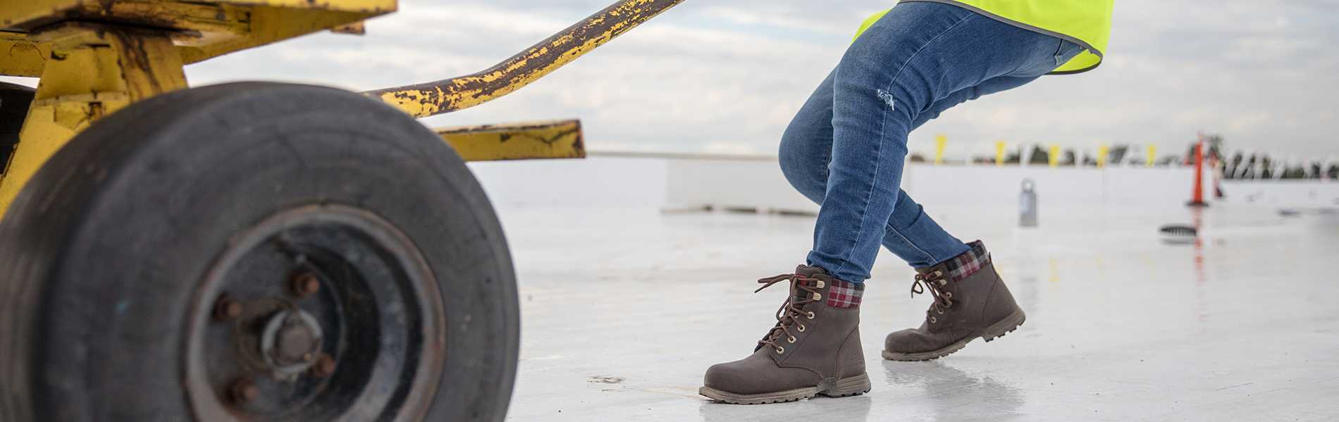 big discount of 2019 how to find On Clearance Kenzie Steel Toe Work Boot
