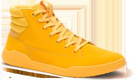 Hex Shoe in Cat Yellow